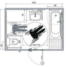 Great Bathroom Decor And Design - Top Style Decor Handicap Toilet, Handicap Bathroom, Washroom, Tina Grande, Toilet Plan, Disabled Bathroom, Ada Bathroom, Bathroom Dimensions, Bathroom Design Layout