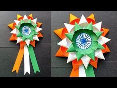 DIY Independence Day Badge/Indian Tricolor August Craft for Kids/Making Indian Flag Badge Independence Day Activities, Happy Independence Day India, Independence Day Decoration, Art Activities For Kids, Crafts For Kids, Preschool Activities, School Board Decoration, Peacock Crafts, Indian Flag