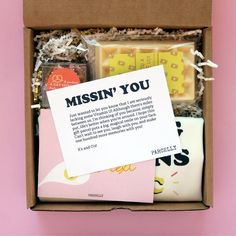 I Miss You Gift. Long Distance Friendship Gift. Miss You Care Package. College Care Package. Best Friend Miss You Gift. Long Distance Best Friend Gift.