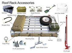Image result for arb roof rack accessories