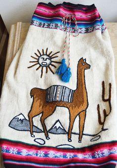 Related image Spanish Projects, Cute Llama, Llama Alpaca, Alpacas, Dress Outfits, Dresses, Fashion Beauty, Bohemian, Backpacks