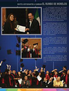 Invité a estudiantes a cambiar el rumbo de Morelos.