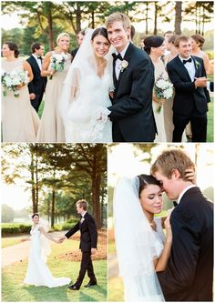 "Bride and Groom at St Ives Country Club. Ceremony and Reception Venue at St Ives Country Club, Johns Creek (Atlanta), Georgia. ""Merry & Howell Wedding"" by Rustic White Photography Country Club Wedding, Rustic Wedding, Event Planning, Wedding Planning, Johns Creek, Wedding Photo Gallery, Elegant Centerpieces, St Ives, Rustic White"