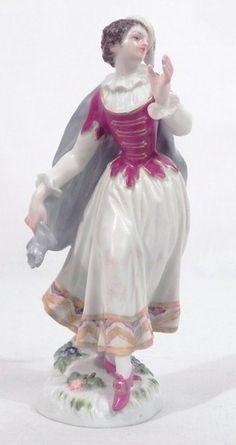 Antique Meissen Porcelain Figurine Columbine Dancing   eBay