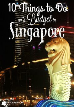 Let's face it - Singapore is expensive but also a must visit country in Southeast Asia. Click here to learn how to visit Singapore on a budget!