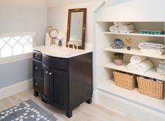 Bathroom Storage Ideas for Small Spaces - Recessed Niche - Click Pic for 42 DIY Bathroom Organization Ideas