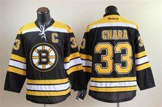 Boston Bruins 33 Zdeno CHARA Home Jersey