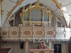 Gottfried Silbermann orgel Burgk