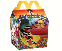 """I would go to McDonalds JUST for the toy. My parent would call me out for it but I would lie and say, """"No I'm actually hungry!"""" I always end up eating one chicken nugget."""