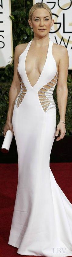 Kate Hudson in Versace ♥✤ Golden Globes 2015 | LBV