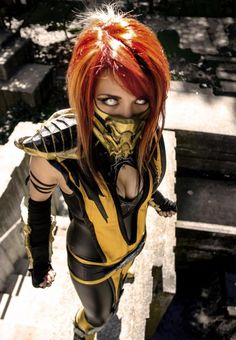 Scorpion #Rule63 #Cosplay by Melissa Franklin