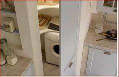 Ricavare angolo lavanderia con cartongesso.