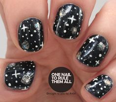 One Nail To Rule Them All: Starry Night for Avon
