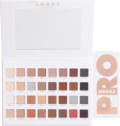 This limited edition PRO artistry palette from Lorac is packed with 32 eye shadows in all the matte and shimmer shades you need to create the hottest looks straight from Hollywood.