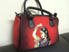 Rajput princesses getting dressed up Digital Print Hand bag for only 1049/-