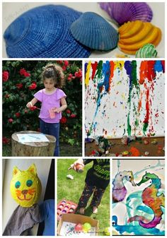 Get creative this summer with fun art projects that you can do inside or outdoors!