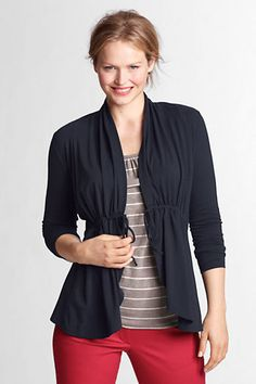 Plus Size Cardigan (I'd tie in bow in front, not like the pic)
