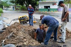 Alcaldía de Guacara rehabilitó red de agua potable en Maracaibero de Yagua