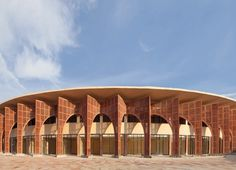Awadh Shilpgram crafts hub is influenced by traditional Indian architecture