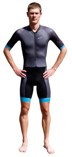 Racer Optimise A.I.R. Criterium Suit, Aerodynamic Sleeves, Pockets, Cuff - Men | Scody | SCODY