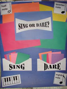 Singing Time in Fort Worth: Sing or Dare. Seems like a cute idea... Not sure about the reverence, but hey.