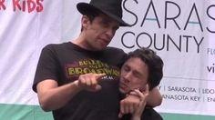 Zach Braff, Nick Cordero Bullets Over Broadway - YouTube