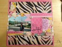 A Project by cgray88 from our Scrapbooking Gallery originally submitted 05/14/13 at 11:18 AM