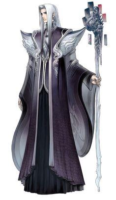 High Priest Sapphius Character Concept Art - Culdcept Saga (Xbox 360)