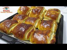 KATMER, delicioasa rețetă de gogoși KATMER - este incredibil de BUNĂ și DELICIOASĂ. - YouTube Donut Recipes, Cooking Recipes, Fun Recipes, Beignets, Pizza, Hot Dog Buns, Donuts, French Toast, Good Food