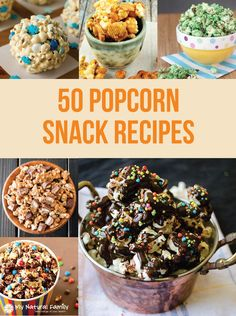 25 Gluten-Free Popcorn Recipes - you will love the variety of gluten-free snacks for Game Day, movie night, party night, game night or simple alone time. Best Popcorn, Popcorn Snacks, Popcorn Recipes, Party Snacks, Snack Recipes, Snacks Ideas, Healthy Popcorn, Food Ideas, Gluten Free Popcorn