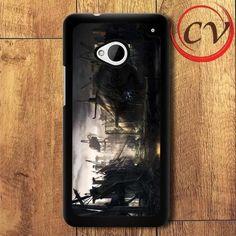 Submarine Fantasy HTC One M7 Black Case