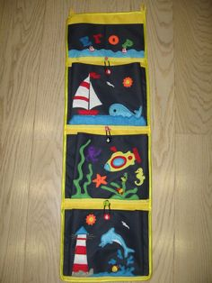 Кармашки на морскую тематику (моя первая работа)