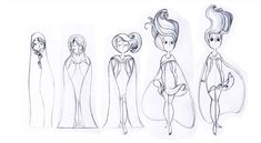 Song of the Sea model sheets (GKIDS/Cartoon Saloon, 2014) 2d Traditional animation