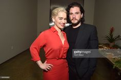 Emilia Clarke and Kit Harington attend the 7th Annual Sean Penn & Friends HAITI RISING Gala benefiting J/P Haitian Relief Organization on January 6, 2018 in Hollywood, California.
