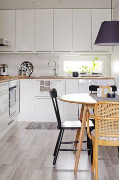 Cool floors. Kitchen by KatjaR., via Flickr