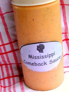Comeback Sauce. Apparently, it's a southern thing. And let's face it, they just make things taste really really good in the south! When I fi...