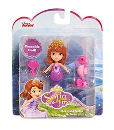 4e4f82fcab7 Amazon.com  Sofia the First Mermaid Sofia and Sven Mini Doll by Disney  Toys    Games