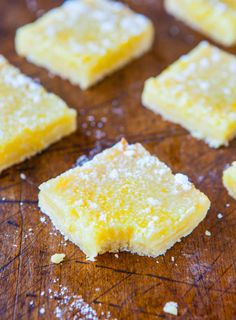 The Best Lemon Bars [ OilsNetwork.com ] #recipe #health #wealth