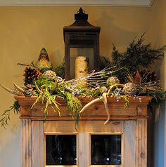 christmas grapevine topiary | This vignette was designed by members of our team. Isn't it great?!!
