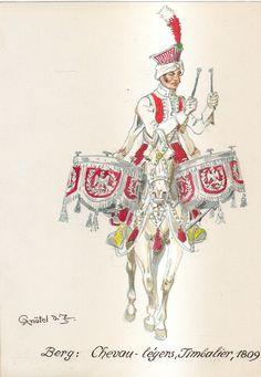 War Drums, Royal Guard, Napoleonic Wars, Berg, Franz, Empire, Naples, Soldiers, Warriors