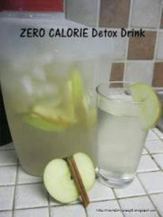 Boost metabolism a yummy way. Thinly slice 2 fugie apples, layer at the bottom of a pitcher.  Add  1 or 2 cinnamon sticks.  Cover with ice, then fill the rest with water.  Let sit for 10 minutes then enjoy.  Refill the pitcher 3 or 4 times before replacing the fruit.  Don't forget to save a couple of apple slices for your water bottle.
