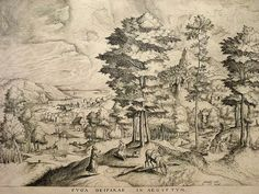 pieter bruegel the elder (after): flight into egypt (fuga deiparae in aegyptum) Pieter Bruegel The Elder, Joseph, His Travel, Wood Engraving, Antwerp, Saint, Drawing, Vintage World Maps, Images