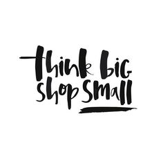 Be sure to support your local shops today and every day! Every time you #shopsmall with us, you support our #smallbusiness, the #independentdesigners we carry and the #localbusiness that we work with. #SmallBusinessSaturday #WestSideGoods (by @toowordy)