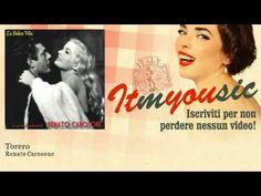 """Renato Carosone and His Sextet, """"Torero"""" [Bullfighter] (1957). From a 78rpm single 'Pathé'. Lead vocals: Renato Carosone."""