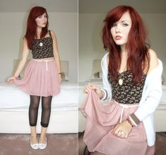 Soft as your touch. (by Paige Joanna Calvert) http://lookbook.nu/look/3728523-Soft-as-your-touch