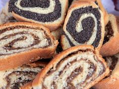 polish christmas cookies Weihnachtspltzchen Bring some Polish tradition to your cookie jar this Christmas with any of these nine time-honored cookies, from amaretti to wafle to pecan crescents. Polish Poppy Seed Roll Recipe, Polish Cookies, Traditional Easter Desserts, Cookie Recipes, Dessert Recipes, Cheesecake Recipes, Yummy Recipes, Poland Food, Strudel Recipes