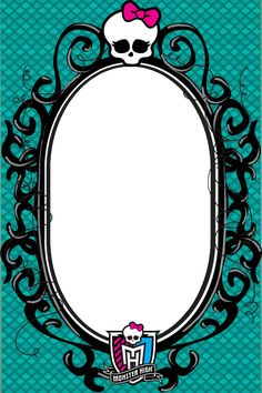 Monster High Picture Frame by ShaiBrooklyn on deviantART