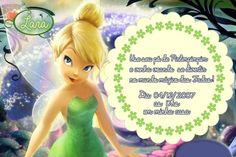 Convite digital personalizado Fadas Disney 021