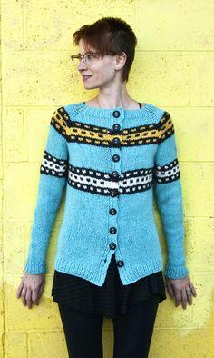 Free+Knitting+Pattern+-+Women's+Cardigans:+106th+Graphic+Raglan+Cardigan