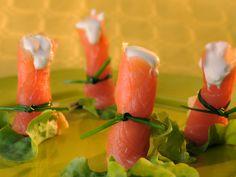 Bouchées de saumon à la crème de Raclette de Savoie